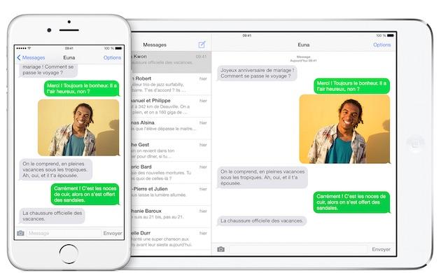 Souvent iOS 8.1 réactive le transfert des SMS | iGeneration OP32