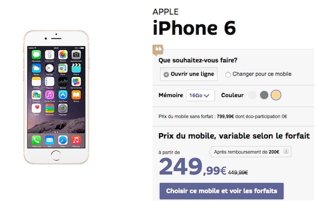 iphone 5 chez sfr