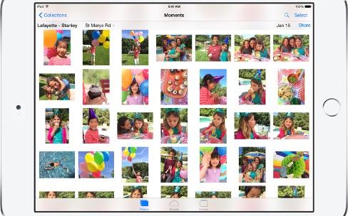 La photothèque iCloud s'améliore sur iCloud.com et débarque sur iMovie