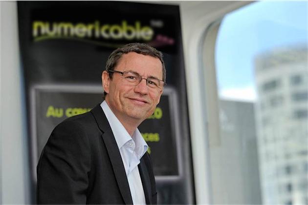 Éric Denoyer, directeur général de Numericable-SFR. Image Numericable.