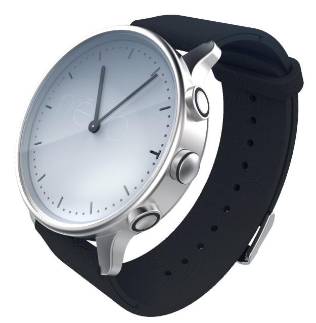 Névo Solar : une montre analogique solaire