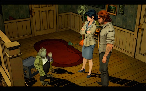 l 39 excellent jeu d 39 aventure the wolf among us offert sur ios igeneration. Black Bedroom Furniture Sets. Home Design Ideas