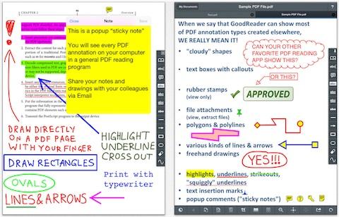 GoodReader : un puissant lecteur de PDF   iGeneration
