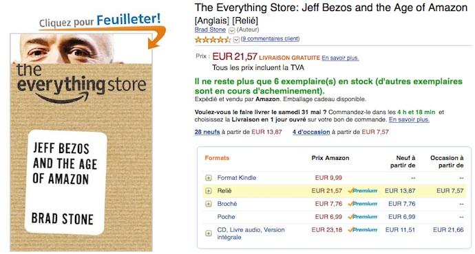 Amazon est le «Everything Store »… sauf quand il faut négocier des prix encore plus serrés avec ses fournisseurs.