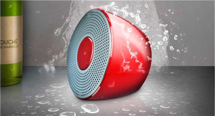 Test de l 39 enceinte novodio shower bluetooth speaker for Musique salle de bain