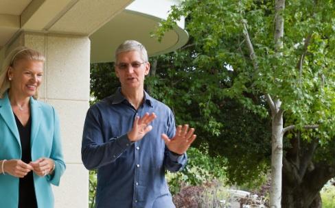 Apple et IBM signent un accord mondial autour d'iOS