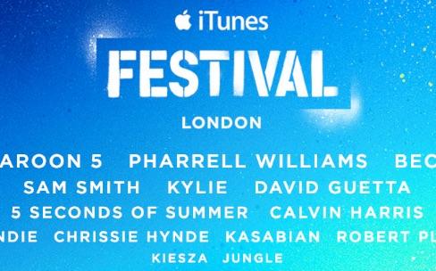 Apple annonce son nouveau festival iTunes londonien