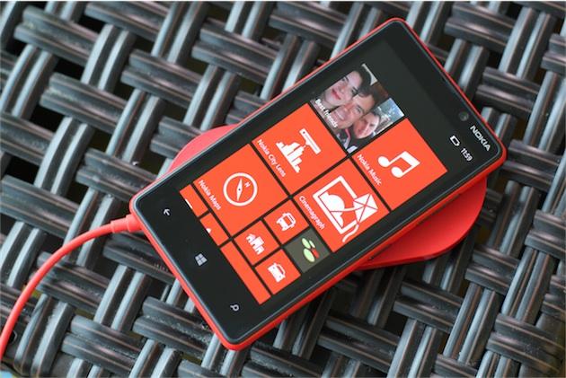 Le chargeur à induction de Nokia. Image Nokia Conversations.