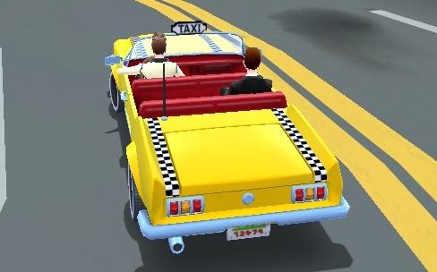Crazy Taxi : City Rush, de l'argent dans le moteur
