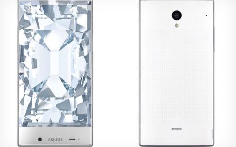 Aquos Crystal, de nouveaux smartphones presque sans bordure