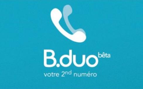 B.duo : un second numéro de téléphone pour 2€/mois chez Bouygues