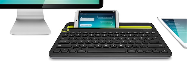 un clavier logitech pour smartphone tablette et ordinateur igeneration. Black Bedroom Furniture Sets. Home Design Ideas