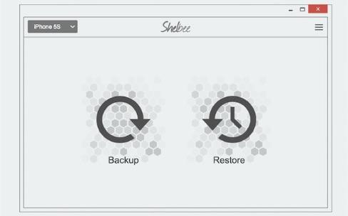 Windows : Shelbee sauvegarde les appareils iOS sans iTunes