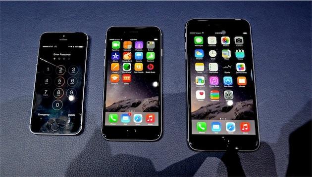 L 39 iphone 6 et l 39 iphone 6 plus en photos et en vid o igeneration - Taille iphone 6 en cm ...