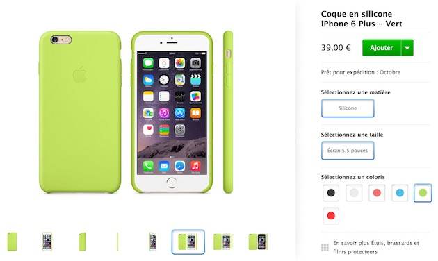 iphone 6 coque silicone vert