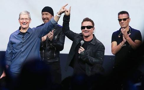 U2 : 33 millions de personnes ont expérimenté Songs of Innocence