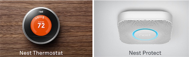 les thermostat et d tecteur nest sont en vente en france igeneration. Black Bedroom Furniture Sets. Home Design Ideas