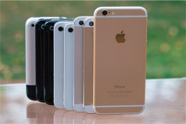 appareil photo huit iphone compar s entre eux igeneration. Black Bedroom Furniture Sets. Home Design Ideas