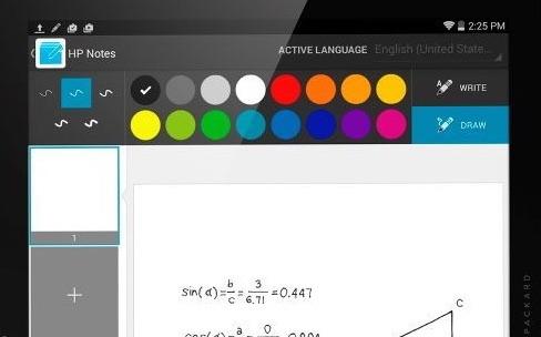 HP : un stylet ultrason pour deux tablettes Android