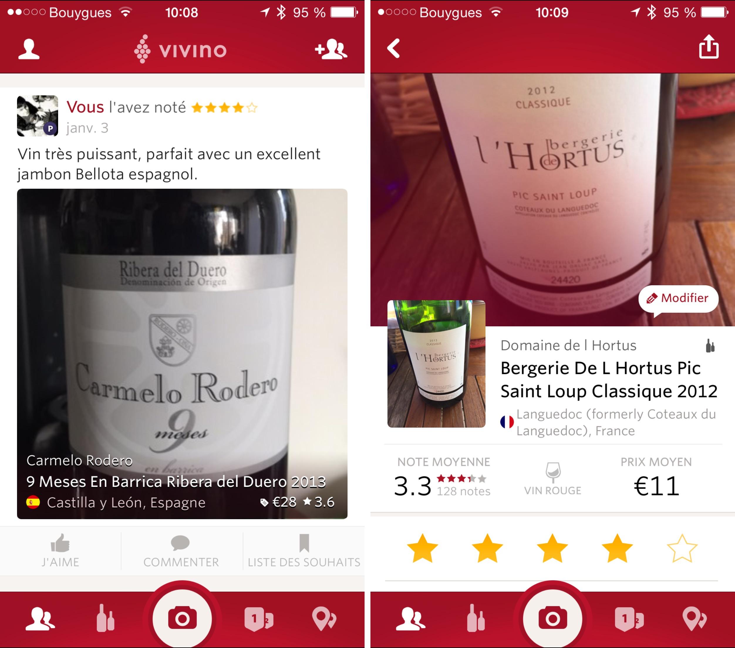 vivino ajoute un abonnement premium pour mieux choisir son vin igeneration. Black Bedroom Furniture Sets. Home Design Ideas