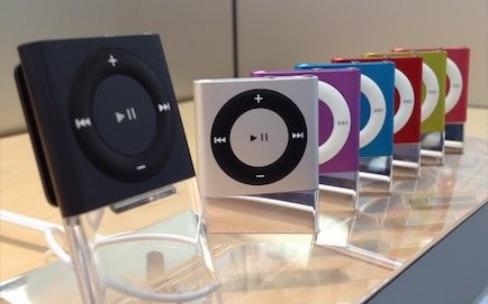 L'Apple Store refait ses stocks d'iPod shuffle