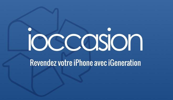 Vendez votre iPhone sur iOccasion