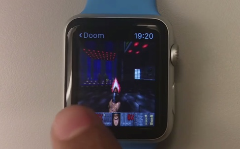 Doom dégomme tout sur l'Apple Watch