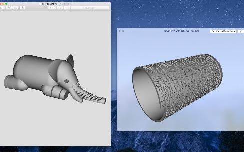 OSX El Capitan affiche les fichiers 3D STL