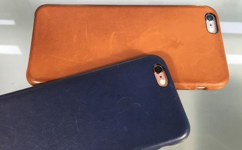 iPhone 6s/6s Plus : pas de miracle pour les étuis en cuir d'Apple