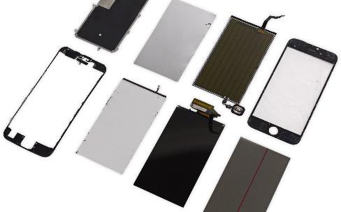 Huit couches composent l'écran des iPhone6s