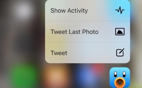 Tweetbot 4 exploite à son tour 3D Touch