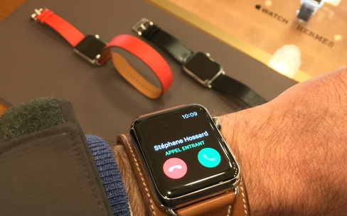 L'Apple Watch Hermès épate la galerie