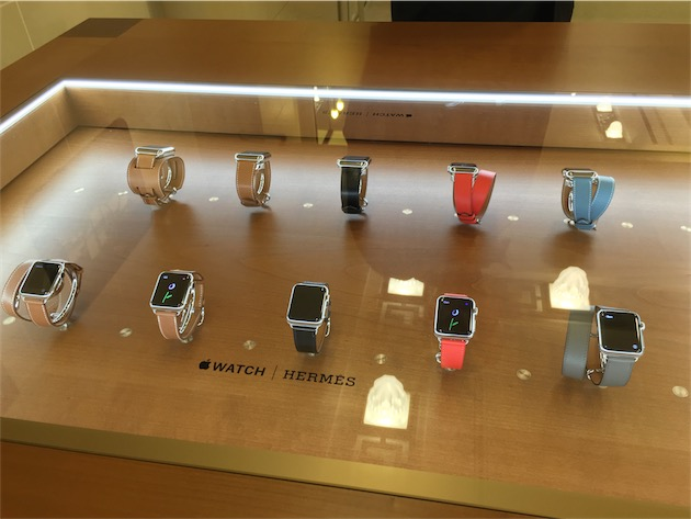 montre apple hermes