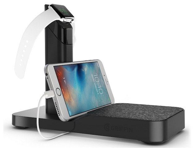 Griffin : le WatchStand accueille maintenant un iPhone