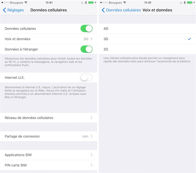 probleme localisation gps iphone 6s Plus