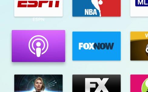 Podcasts et PocketCasts pourraient arriver sur l'AppleTV
