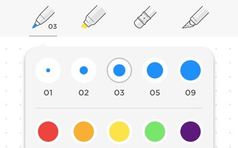 Evernote dessine et partage son écran sous iOS9