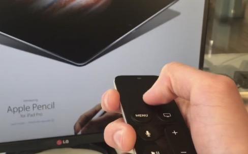 Aperçu en vidéo du navigateur bricolé pour l'Apple TV