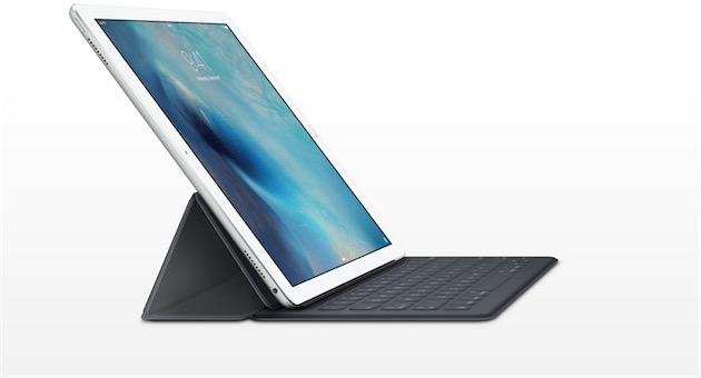 Avec ou sans clavier, l'iPad Pro est aussi puissant que la plupart des Mac portables. Image Apple.