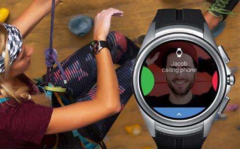 Android Wear compatible avec les connexions cellulaires