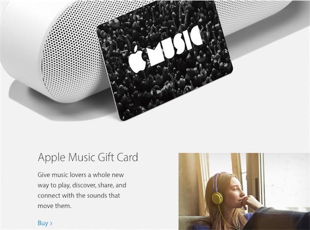 Carte Cadeau Apple.Une Carte Cadeau Apple Music Prochainement En Vente Maj Igeneration