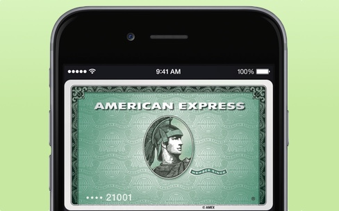 Apple Pay disponible au Canada avec American Express
