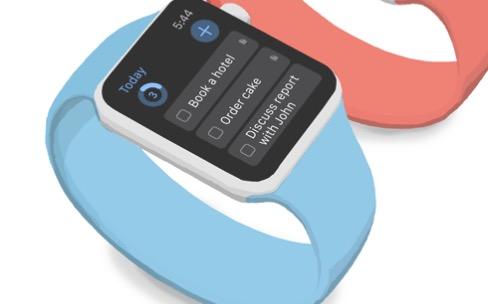 Things: une app native pour Apple Watch et une complication