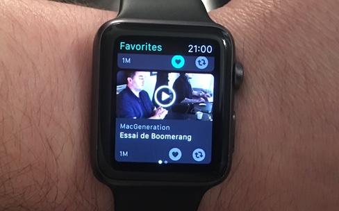 Les Vine tournent enfin en boucle sur l'Apple Watch