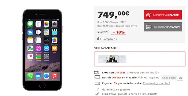 Prix Iphone S Neuf Apple