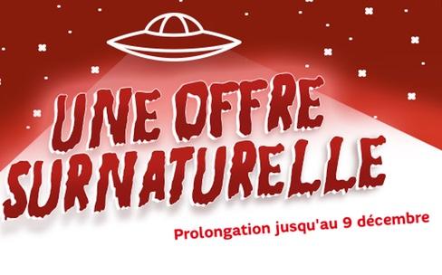 Le forfait RED SFR 20 Go à 3,99 € est prolongé jusqu'au 9 décembre