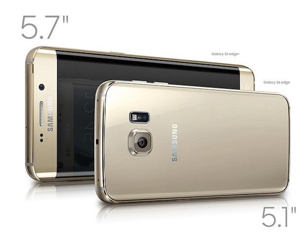Le Samsung Galaxy S6 Edge a une définition de 518 ppp contre 401 ppp pour l'iPhone 6s Plus