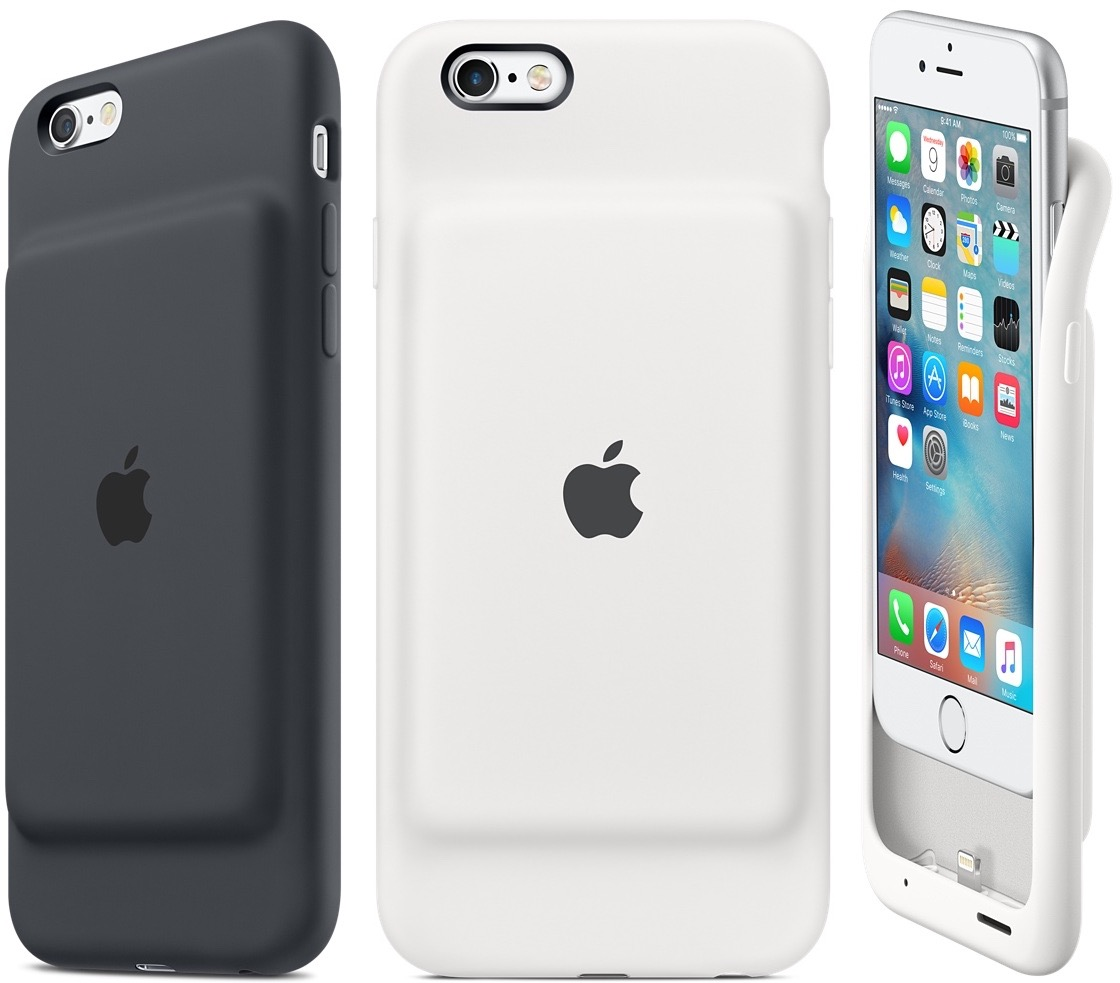 apple commercialise une coque avec batterie pour les iphone 6 igeneration. Black Bedroom Furniture Sets. Home Design Ideas