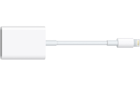 L'adaptateur Lightning vers lecteur de carte SD devient compatible avec l'iPhone et l'USB 3.0