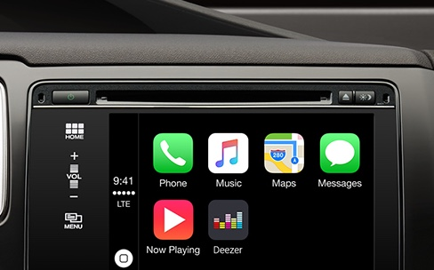 deezer s 39 coute en voiture avec carplay igeneration. Black Bedroom Furniture Sets. Home Design Ideas